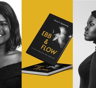 Nancy Agyemang: Young Lady Who Waited For Six Years Before University Shares Grass To Grace Story In New Book; Ebb And Flow