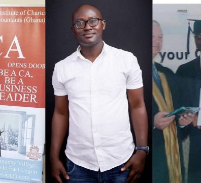 From Being A Househelp to Being A Chartered Accountant And An Auditor: Boakye Daniel Kwadwo Shares Grass To Grace Story