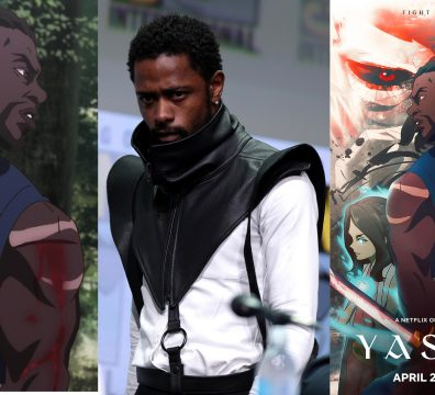 NEXTFLIX RELEASES SERIES ON YASUKE THE BLACK SAMURAI STARRING LAKEITH STANFIELD