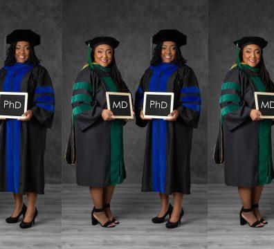 Twin Sisters Ti'ara & Ki'ara Make Family History, Graduate as Scientist & Physician Respectively