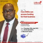 Reasons Why SMEs Should Join the UBA Business Series on How to Access Funding