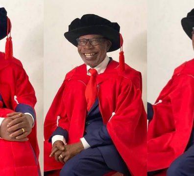 Bachelor's at 64, PhD at 75: Meet H. E. George Ayisi-Boateng