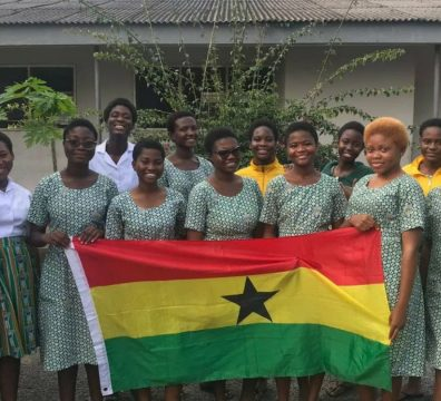 Ghana Represented By 12 Aburi Girls in The First Global Challenge 2021