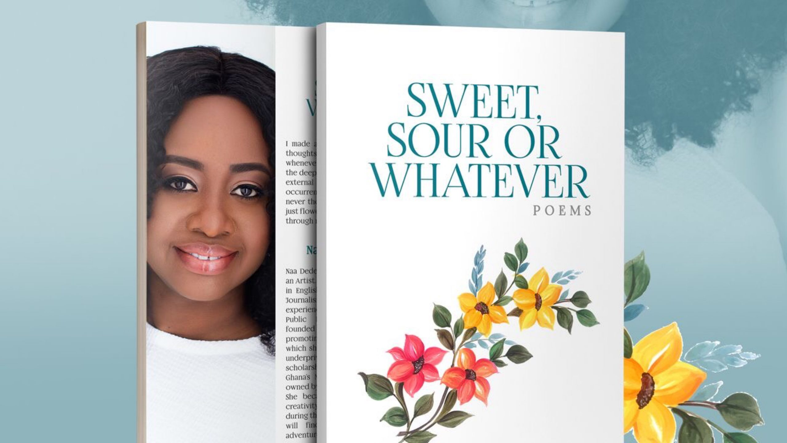 Naa Dedei Botchwey Makes Poetry Debut with 'Sweet, Sour or Whatever'