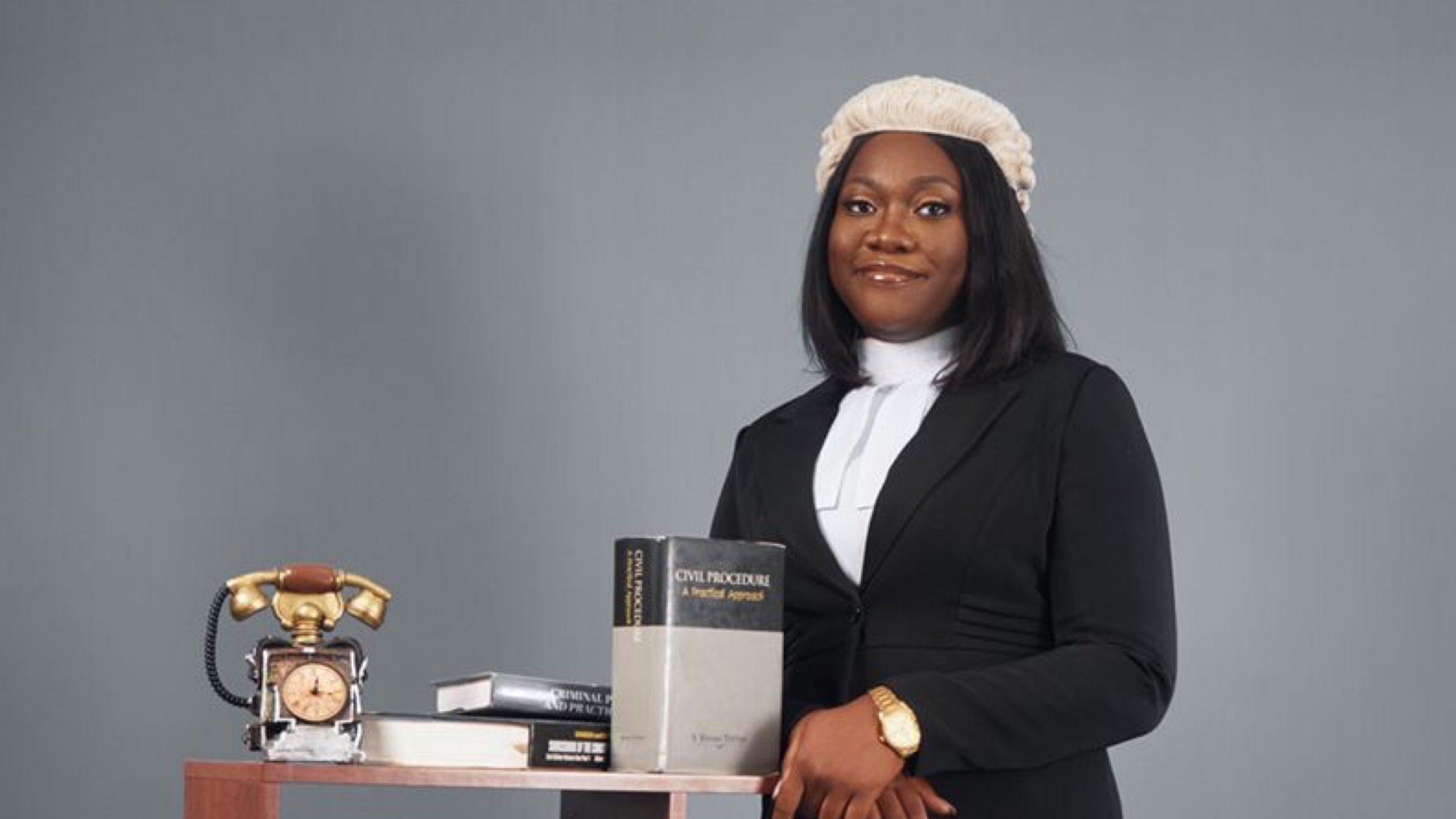 Edna Ampah Makes Ghanaian Bar After Graduating With  Award