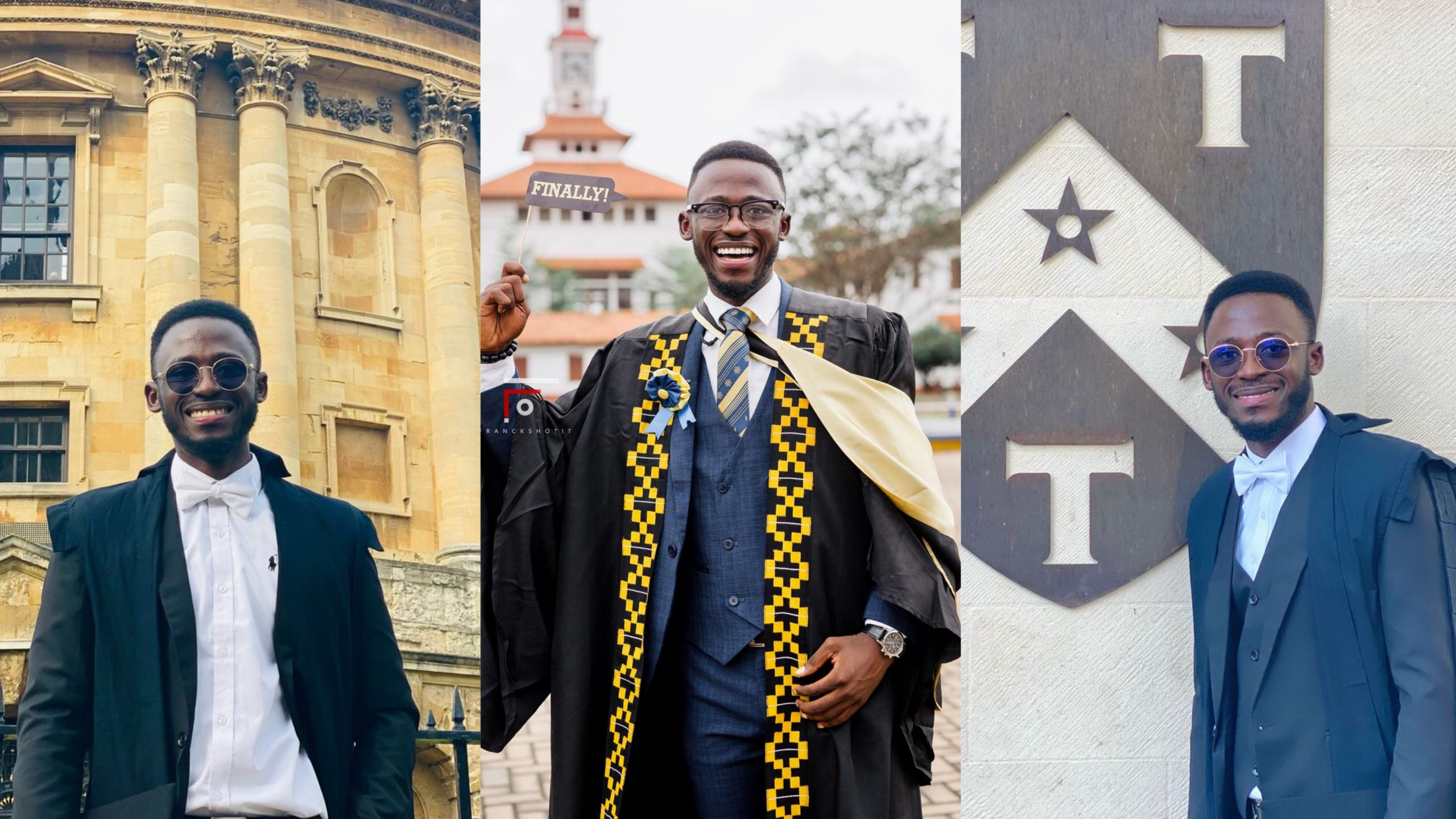"""""""I'm Officially A Student Of The Number 1 University In The World"""" – Clement Amponsah, On His Admission To Oxford"""