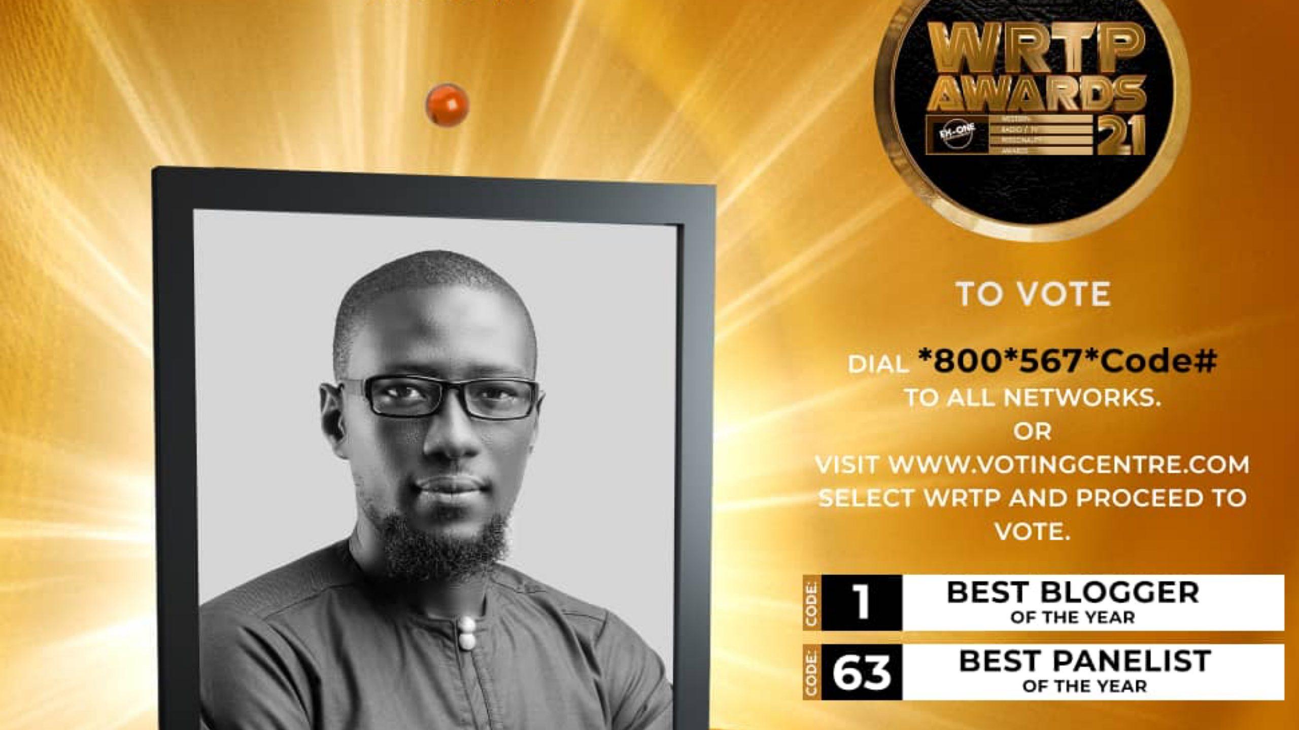 Boga Ali Hashim bags two nominations at WRTP Awards 2021